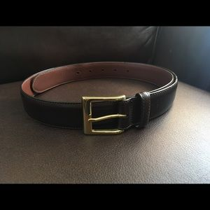 Men's Coach Leather Belt size 36
